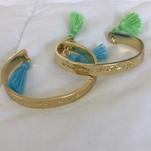 Set of 2 Lilly Pulitzer Bangle Bracelets